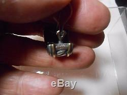 David Yurman Vintage Earrings Cable Classic Sterling Silver & 14kt Look Wow