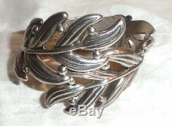 HILARIO LOPEZ TaxcoHLVintageSterling Silver Set Necklace Bracelet Earrings