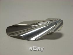 Tiffany Angel Wing Earrings Sterling Silver 925 Rare Vintage Very Good