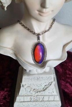 Vintage Dragons Breath Sterling Necklace