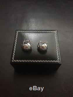 Vintage John Hardy Kali Sterling Silver Earrings