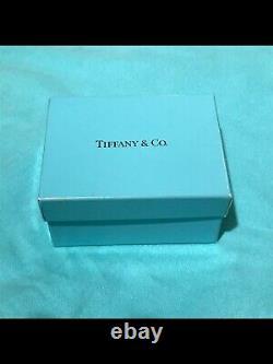 Vintage Tiffany & Co. Elsa Peretti Sterling Silver Large Bean Clip On Earrings